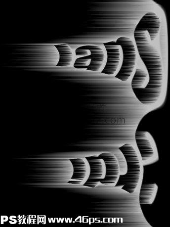 利用photoshop极坐标设计出震憾效果的光芒字特效