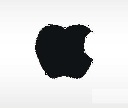 photoshop制作苹果壁纸
