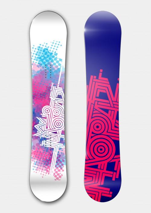 标签:平面设计雪板设计