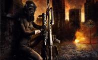 PS合成硝烟弥漫的城市战争场景