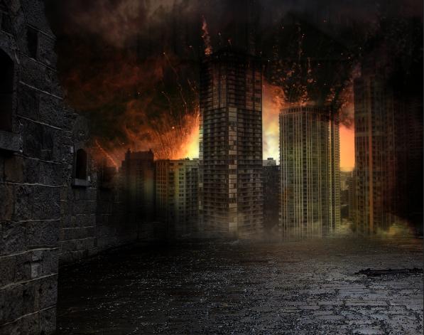 919d250e02683667351d5452a3a2a2e9 碉堡!手把手教你:创建硝烟弥漫的城市战争场景