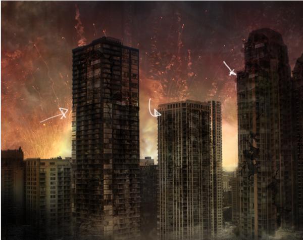 f1b2452da84551fc91db93425b6a20d9 碉堡!手把手教你:创建硝烟弥漫的城市战争场景