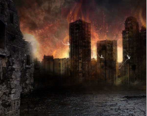 eddea26e35e2fde4c56fc1a0027827a0 碉堡!手把手教你:创建硝烟弥漫的城市战争场景