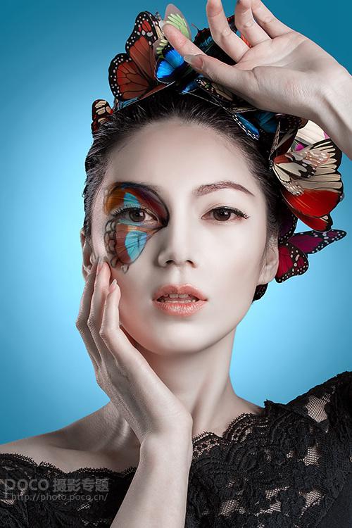 妆容人像后期教程 商业人物后期质感磨皮技巧