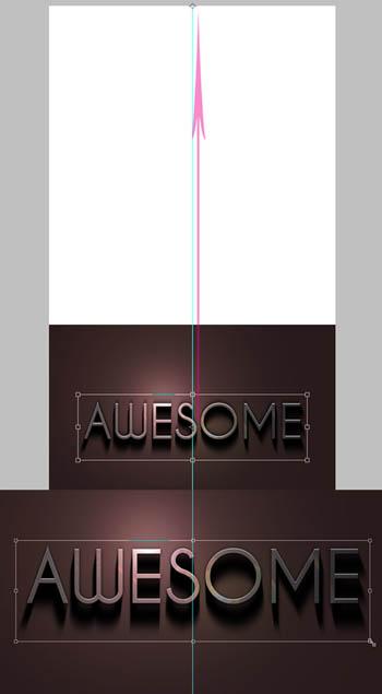 Photoshop制作超酷的金属光感字