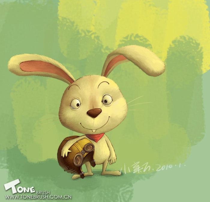 黑暗小小兔头像高清