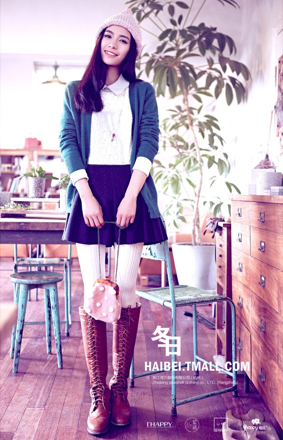 紫涵_紫涵日系女装2014Q4#冬日森女_其他教程_PS教程