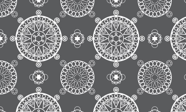 Photoshop自制细腻漂亮的黑白几何图案