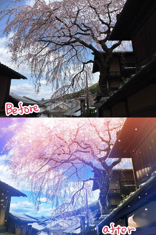 PS调出二次元效果 日式风光后期 用Photoshop打破次元壁!