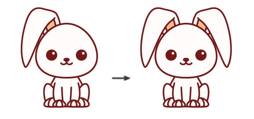 用Adobe Illustrator轻松画出可爱的动物 翻译