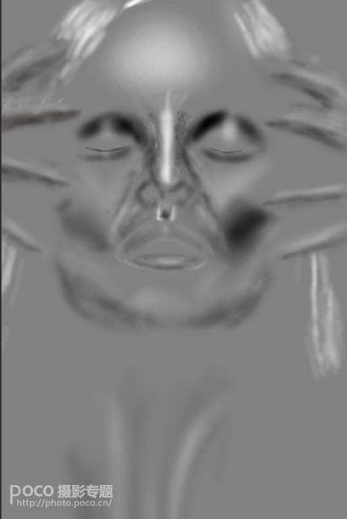 人像后期进阶:加强脸部结构打造立体感