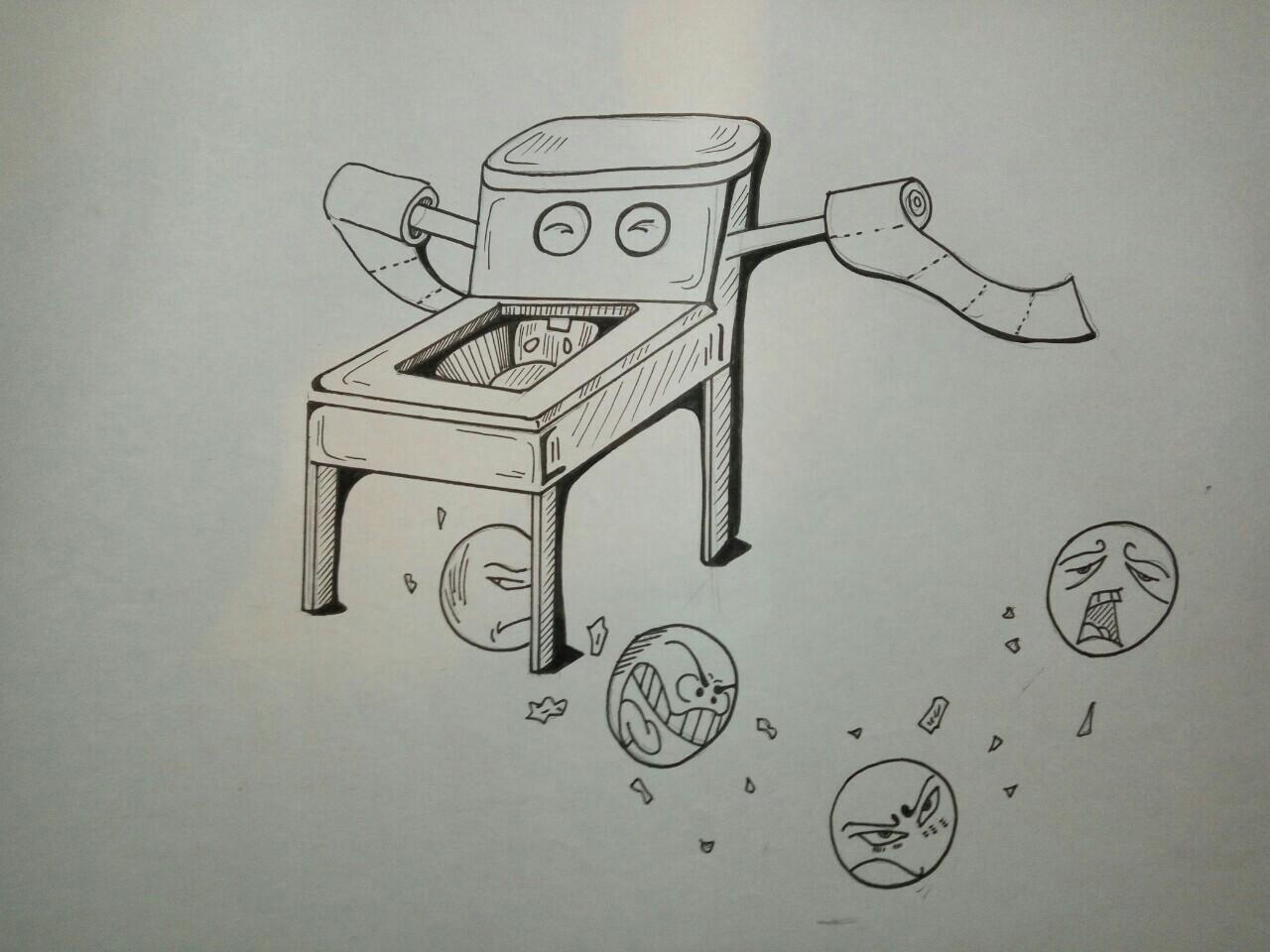 简单素描画步骤图形