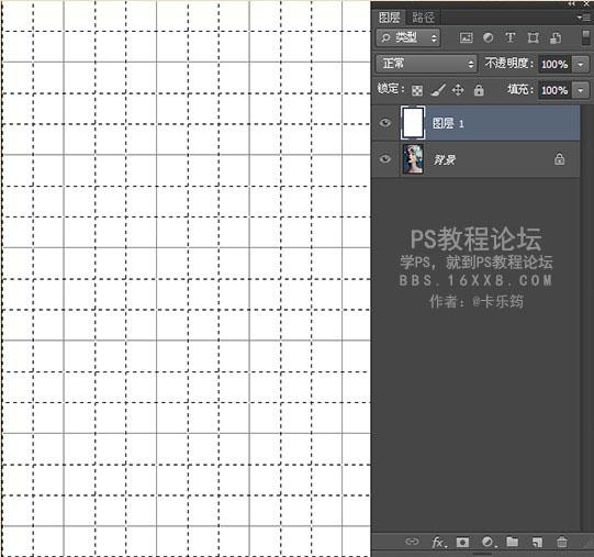 这一步是为了给图片添加网格线,取消网格的显示.-Photoshop制作